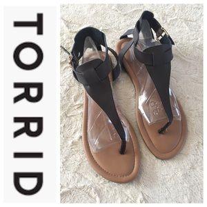 Torrid Thing Sandals Sz 12